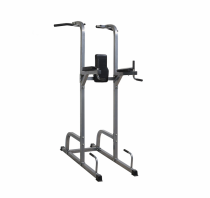 Multi functional trainer free standing pull up bar dip station