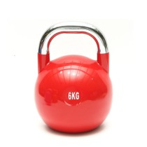 Power Training Fitness Colorful Vinyl Neoprene Kettlebell Competition