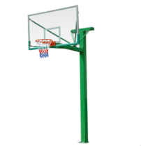 hot sale reinforced square tube basketball stand