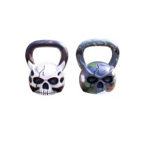 Gym Workout Competition Kettlebell Handles Cast Iron 20KG Kettebell