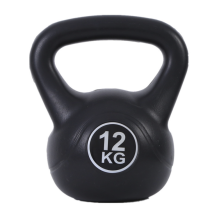 Custom eco friendly mini plastic kettlebell cement kettlebell