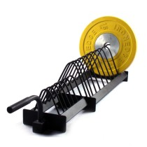 Gym storage rack fitness equipement weight lifting barbell weight plate rack