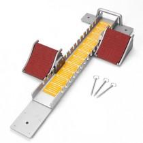 Aluminum alloy dual use adjustable athletics starting blocks track and field