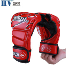 Hot Sell Pro PU boxing gloves fighting gloves