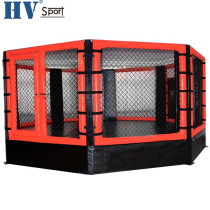 Factory Price Octagon Mma Cage With Customized Size And Logo