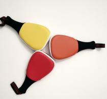 Custom multi-colors Martial Arts kids use hand target for taekwondo kicking target pad