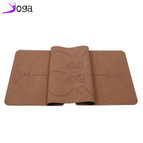 Cork yoga mat natural environmental body line yoga mat