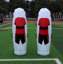 Inflatable PVC football traning equipment kick wall