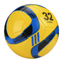 Custom logo Size 4 PU machine sewing teenager soccer ball football for training