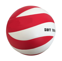 Offical size teenager competition training glue laminated PU volleyball