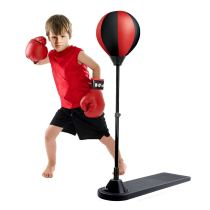 Adjustable inflatable set stress relief mini punching ball boxing for kids