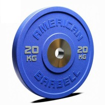 Gym fitness PU Durable bumper weight plate set