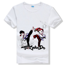 new design T-shirt, cheap taekwondo T-shirt oem service
