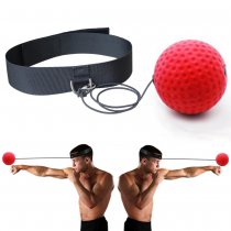 Boxing Reflex Speed Punch Ball Training Hand Eye Coordination with Headband Improve Reaction
