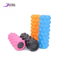 Yoga Column Roller Gym Roller blocks Fitness Foam Yoga Blocks Massage Grid Trigger EVA Yoga Pilates Therapy Relaxation