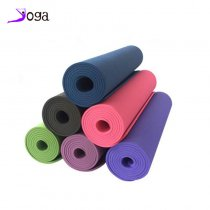 High quality easy cleaning environment friendly TPE yoga mat