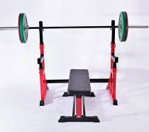 Chinese gym equipment hammer strength life fitness half squat power rack