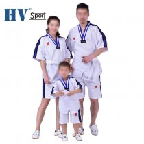 Product Adult Male Female child kids Breathable cotton uniform WTF Approved Taekwondo