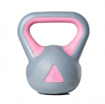 Pink Blue Mini Plastic Sandfilled Kettlebell for sale