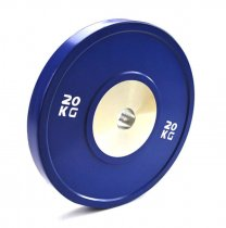 Weightlifting anti-fall barbell bumper weight plate rubber competition bumper plate