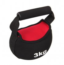 Gym Home Use Adjustable Iron Sand Neoprene Soft Kettlebell