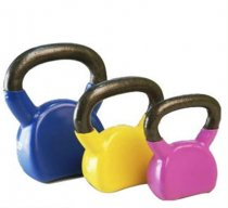 Colorful Vinyl Neoprene Dipping Kettlebell