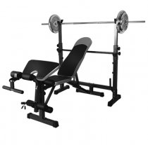 Multifunctional Fitness Training Split Weight Bench Squat Rack Bench Press