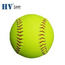 Wholesale office size and weight PVC 12inch softball balls