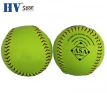 Wholesale 12 inch Fast pitch optic yellow Leather polycore .47,375LBS Softball