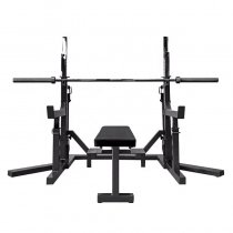 Multifunction Home gym lifting exercise weight benches press with squat rack