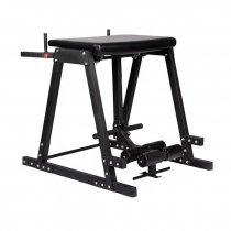 New style gym fitness reverse hyper extension machine