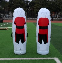 Inflatable PVC football traning equipment kick wall