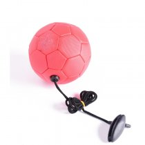 Training equipment football soccer ball with rope