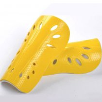 Custom logo plastic EVA football shin guard soft soccer shin pads