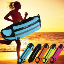 Mobile phone sports Fanny pack outdoor fitness waterproof belt multi-functional anti-theft bag men and women 6 inches diving material mobile phone bag