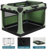 Petsfit Portable Soft Collapsible Dog Crate for Indoor and Outdoor Use