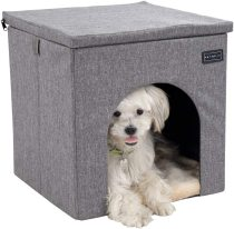 Petsfit Dog House Chair for Indoor Use, Collapsible Washable Pet House for Cat and Puppy
