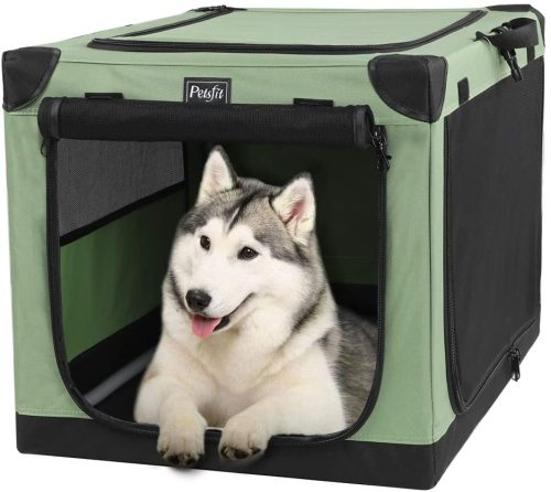 Petsfit 36 Inch Portable Dog Crate for Outdoor and Travel Use…