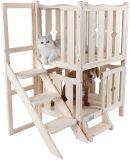 Petsfit Wooden Pet Bed, Dog Bed (W/O Mat)