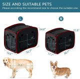Petsfit Portable Pop Open Cat Kennel,Cat Cage,Dog Kennel,Cat Play Cube,Lightweight Pet Kennel
