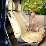 Petsfit Dogs Front Seat Cover, Nonslip Scratchproof Washable Pets Seat Cover Protector Against Dirt and Fur, Full Coverage to Edges of The Seats, Universal Fits