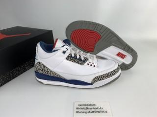 Air Jordan 3 Retro ''True Blue''