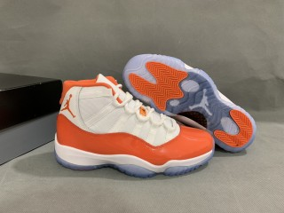 Air Jordan 11 Retro Orange and White