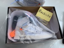 Air Jordan 1 Retro High OG OFF-WHITE All White