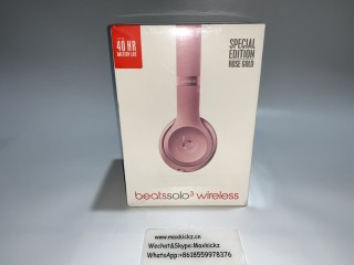 Beats Solo 3 Wireless Gold Rose