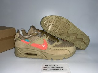 Off White x Nike Air Max 90 ''Desert Ore''