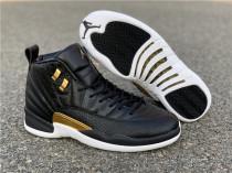 WMNS Air Jordan 12  Midnight Black