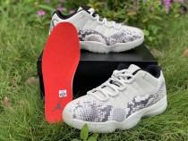 Air Jordan 11 Retro Low Snake Skin Light Bone
