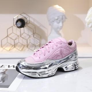 Raf Simons x Adidas Consortium Ozweego Silver/Pink