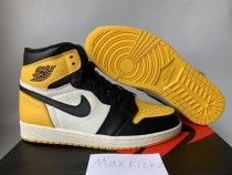 Air Jordan 1 Retro High OG ''Yellow Toes''